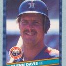 1986 Donruss # 380 Glenn Davis Astros