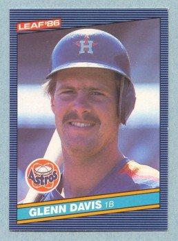 1986 Leaf # 175 Glenn Davis Astros