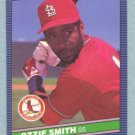1986 Leaf # 47 Ozzie Smith HOF Cardinals
