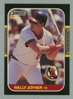1987 Donruss # 135 Wally Joyner RC Angels Rookie