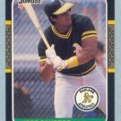 1987 Donruss # 97 Jose Canseco Oakland A's