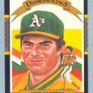 1987 Donruss Diamond Kings # 6 Jose Canseco Oakland A's