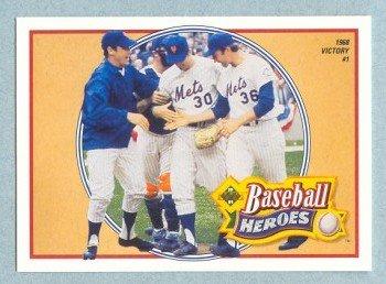 1991 UD Baseball Heroes # 10 Nolan Ryan HOF Mets Angels