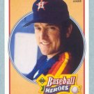 1991 UD Baseball Heroes # 14 Nolan Ryan HOF Mets Angels