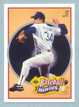 1991 UD Baseball Heroes # 16 Nolan Ryan HOF Mets Angels
