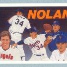 1991 UD Baseball Heroes # 18 Nolan Ryan Checklist HOF