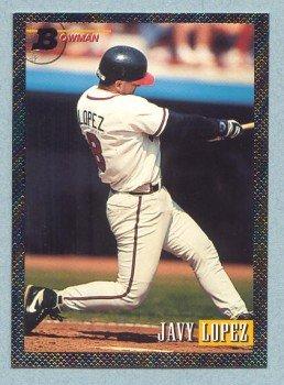 1993 Bowman # 343 Javy Lopez Foil Braves