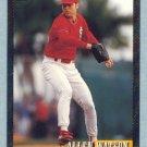 1993 Bowman # 358 Allen Watson Foil Cardinals