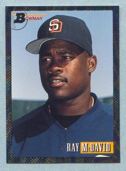 1993 Bowman # 359 Ray McDavid Foil Padres