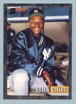 1993 Bowman # 370 Brien Taylor Foil Yankees