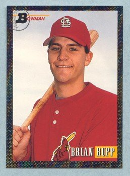 1993 Bowman # 700 Brian Rupp Foil RC Cardinals