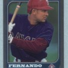 1997 Bowman Chrome # 185 Fernando Tatis RC Rangers Rookie
