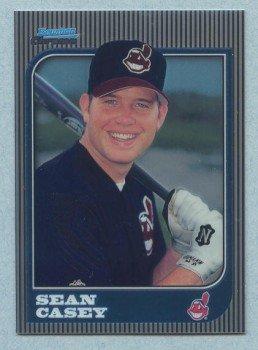 1997 Bowman Chrome # 245 Sean Casey Indians