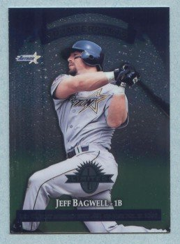 1997 Donruss Ltd Counterparts # 11 Jeff Bagwell -- Eric Karros Astros Dodgers