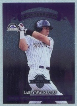 1997 Donruss Ltd Counterparts # 133 Larry Walker -- Rusty Greer Rockies Rangers