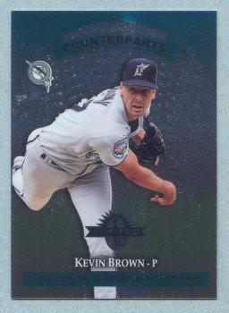 1997 Donruss Ltd Counterparts # 143 Kevin Brown -- Matt Morris Marlins Cardinals