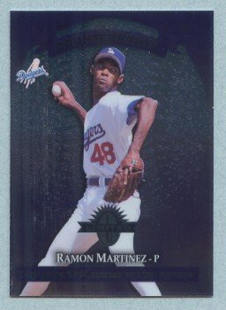 1997 Donruss Ltd Counterparts # 25 Ramon Martinez -- Bobby Jones Dodgers Mets