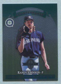 1997 Donruss Ltd Counterparts # 52 Randy Johnson -- Jason Dickson Mariners Angels