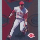 1997 Donruss Ltd Double Team # 61 Barry Larkin -- Deion Sanders Reds
