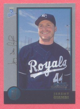 1998 Bowman Chrome # 406 Jeremy Giambi RC Royals Rookie