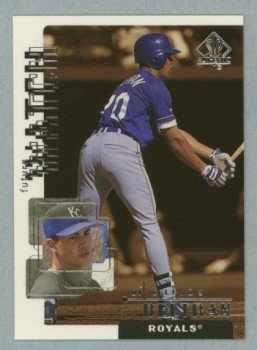1999 SP Authentic Future Watch # 102 Carlos Beltran #d 2076 of 2700 Royals