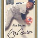 2000 Greats of the Game Autographs # 10 Jim Bouton Yankees Auto