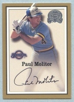 2000 Greats of the Game Autographs # 53 Paul Molitor HOF Auto
