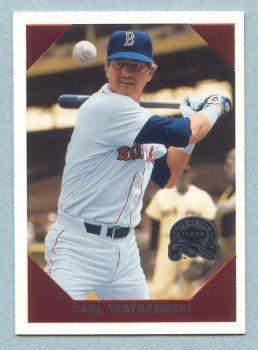 2000 Greats of the Game Retrospection # R13 Carl Yastrzemski HOF Red Sox