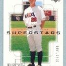 2000 UD Pros & Prospects # 133 Dane Artman RC #d 0763 of 1600 Rookie