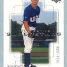 2000 UD Pros & Prospects # 144 Cory Vance RC #d 0810 of 1600 Rookie