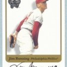 2001 Greats of the Game Autographs # 15 Jim Bunning HOF Phillies Auto
