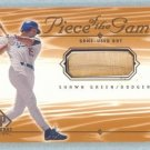 2001 SP Game Bat Edition Piece of the Game # SG Shawn Green GU Bat SP