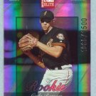 2002 Donruss Elite Rookie # 200 Cody Ransom RC #d 1085 of 1500 Rookie SF Giants