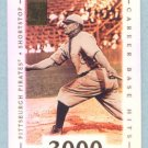 2002 Topps Tribute # 20 Honus Wagner HOF 3000 Career Base Hits on 6-9-14