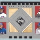 2002 UD Diamond Connection Bat Around Quads # BA-SGPM Sosa Griffey Palmeiro McGriff GU Bat