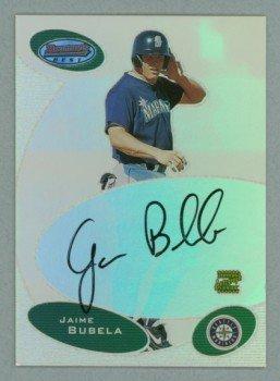 2003 Bowman's Best First Year Autograph # BB-JLB Jaime Bubela Auto RC Rookie
