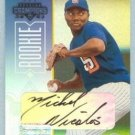 2003 Champions Autographs # 293 Mike Nicolas #d 238 of 500 Padres Auto