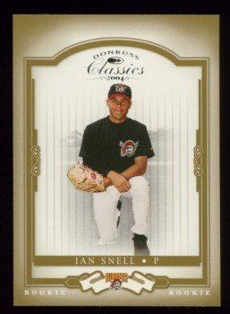 2004 Donruss Classics Rookie # 205 Ian Snell RC #d 0551 of 1999 Pirates Rookie
