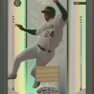 2004 Leaf Certified Materials Mirror Bat White # 152 White Jermaine Dye GU Bat #d 146 of 200