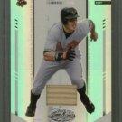 2004 Leaf Certified Materials Mirror Bat White # 89 Jay Gibbons GU Bat #d 087 of 100 Orioles