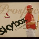 2004 Skybox Autographics Prospect # 70 John Gall RC #d 1305 of 1500 Cardinals Rookie