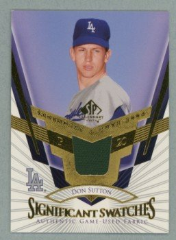 2004 SP Legendary Cuts Significant Swatches # SS-DS Don Sutton GU Jersey Dodgers HOF