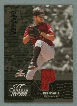 2005 Leaf Century Material Fabric Position # 44 Roy Oswalt GU Jersey #d 236 of 250 Astros