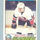 1977-78 OPC # 10 -- Denis Potvin