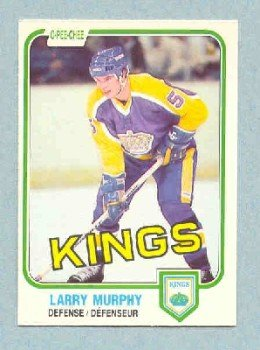 1981-82 OPC # 148 -- Larry Murphy RC