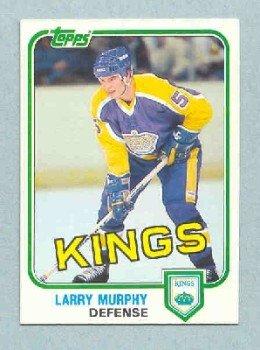 1981-82 Topps # W100 -- Larry Murphy RC