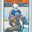 1982-83 OPC # 105 -- Grant Fuhr RC