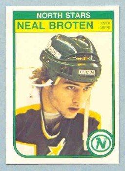 1982-83 OPC # 164 -- Neal Broten RC