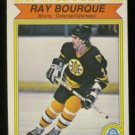 1982-83 OPC # 24 -- Ray Bourque In Action, Bruins