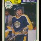 1983-84 OPC # 160 -- Bernie Nicholls RC, Kings, Rookie